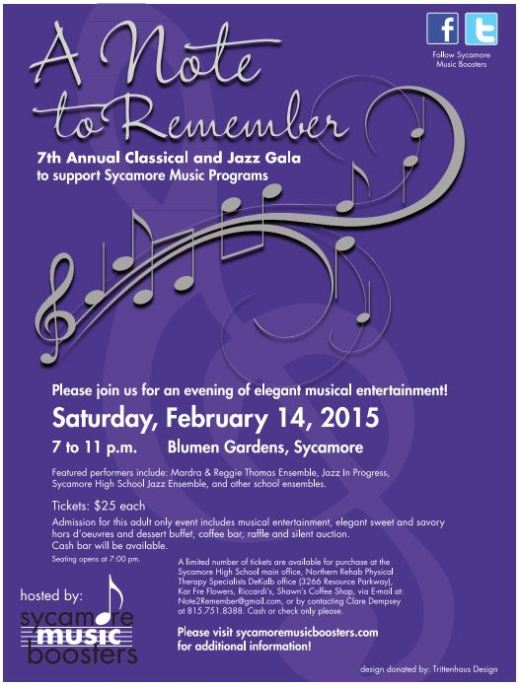 7th Annual Note to Remember 2015