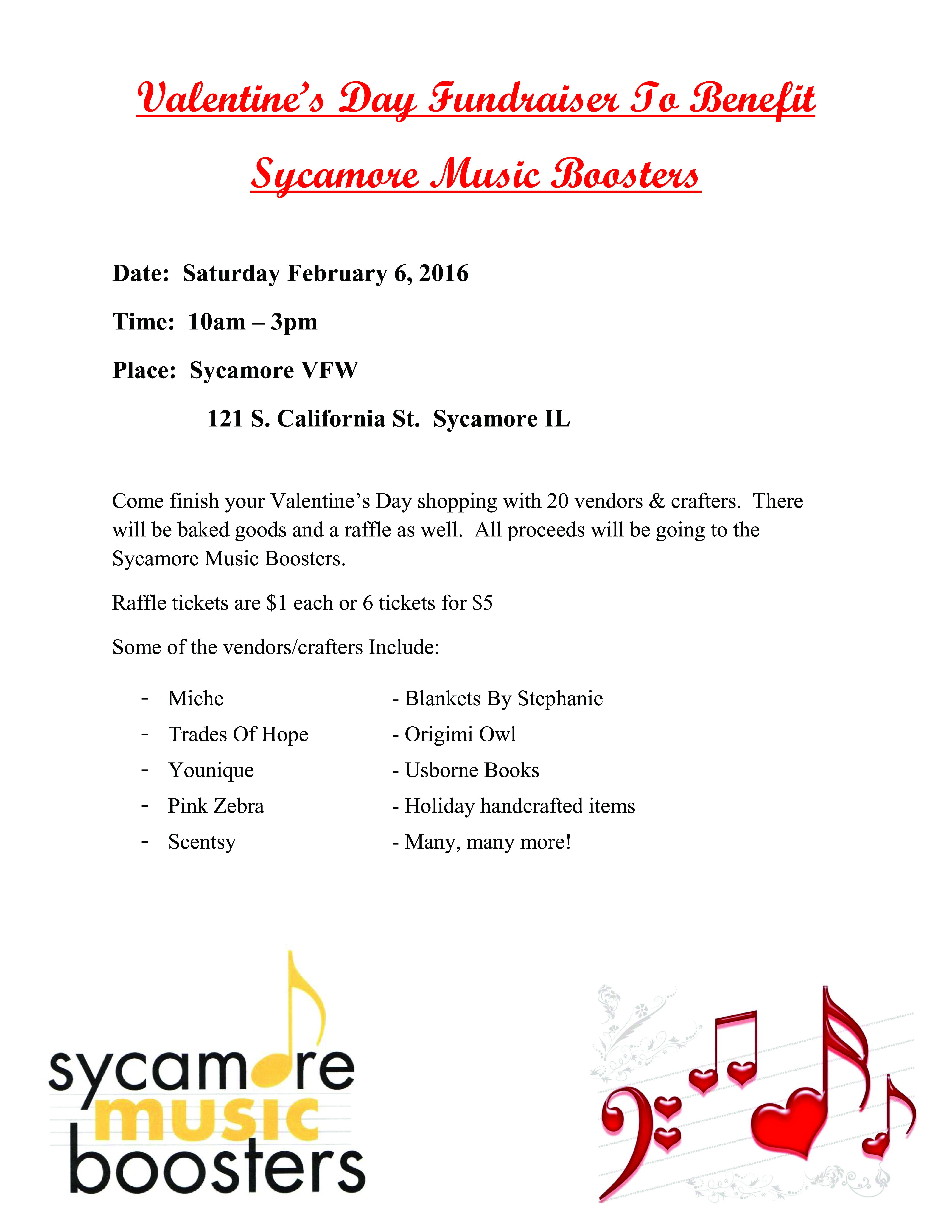 valentine u2019s day fundraiser set to benefit sycamore music