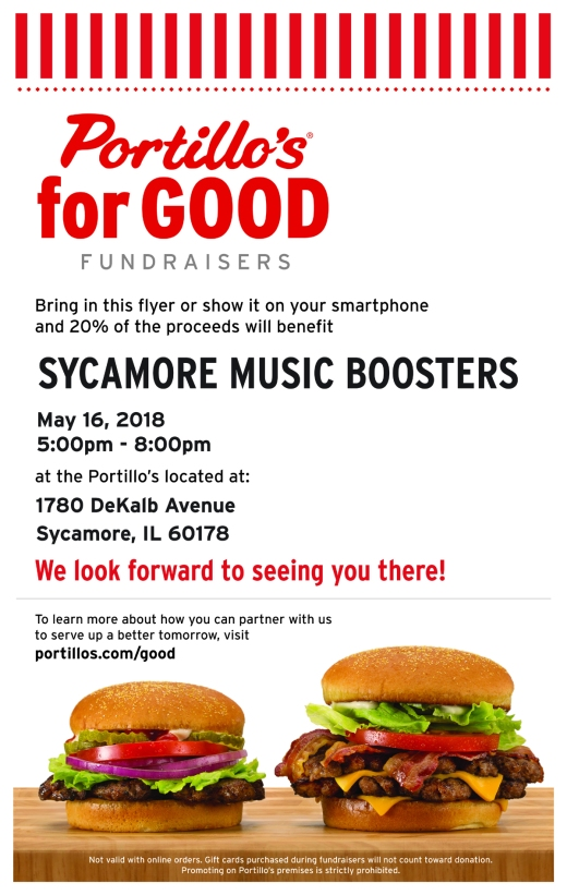 Flyer - Portillos Fundraiser May 2018-SM